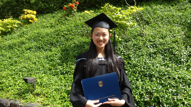 Meiying Zhuang - Reach Your Potential Program recipient