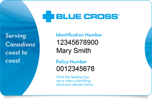 Medavie Blue Cross ID card