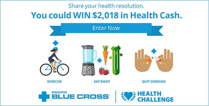 Pacific Blue Cross Health Resolution Challenge